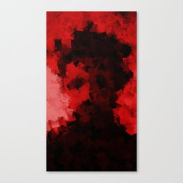 SELFIE DANGER Canvas Print