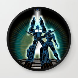 CyberTRON (G1 Optimus Prime Transformers TRON)  Wall Clock