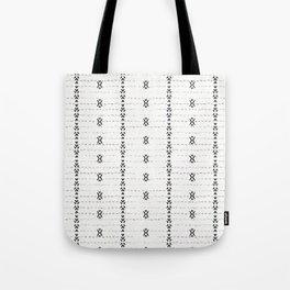 FRENCH LINEN STRIPE Tote Bag