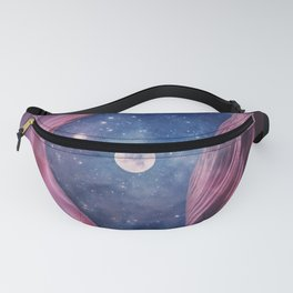 Grand Canyon with Space Collage Fanny Pack
