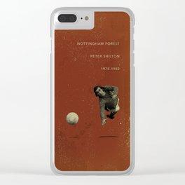 Nottingham Forest - Shilton Clear iPhone Case