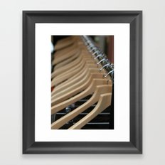 Ribs ... things often are not what they seem Framed Art Print