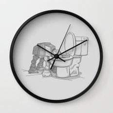 Bad, bad Walker Wall Clock