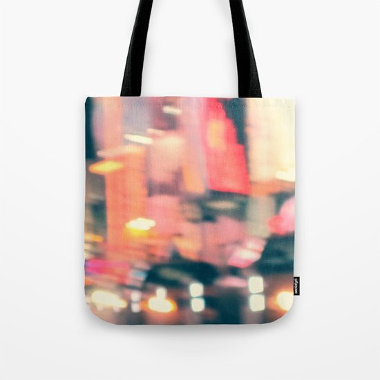 NY Lights Tote Bag