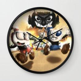 Cuphead & Mugman Wall Clock