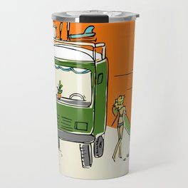 Green Native Adventure Travel Mug