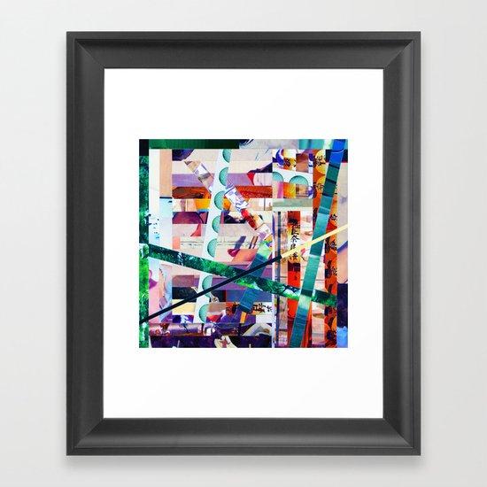 Antonsen (stripes 20) Framed Art Print