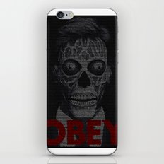 They Live. Obey. Screenplay Print. iPhone & iPod Skin
