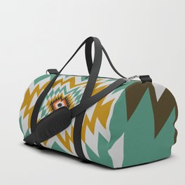 Geometric tribal decor Duffle Bag