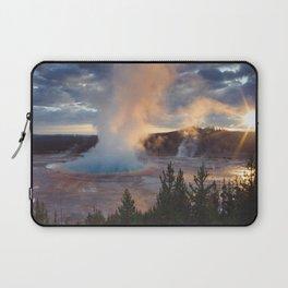 Grand Prismatic Spring, Yellowstone Laptop Sleeve