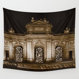 Alcala's Gate V WH Wall Tapestry