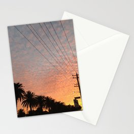 Perforated Clouds Stationery Cards