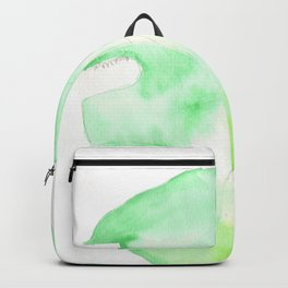 170928 Never Leaves 3 |Monstera Watercolor Art | Abstract Watercolors Backpack