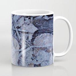 Frost & Leaves Coffee Mug