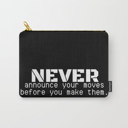 07MA04   Motivational Quote   Digital Art   Artist Amiee Carry-All Pouch