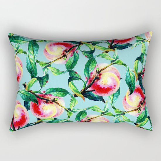 Peachy #society6 #decor #buyart Rectangular Pillow
