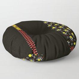 Softball Mom Statement Leggings Floor Pillow