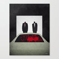 pulp Canvas Prints featuring Pulp by Osvaldo Casanova