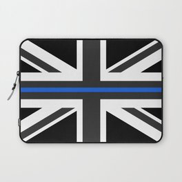 Thin Blue Line UK Flag Laptop Sleeve