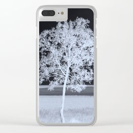 bright certainty Clear iPhone Case