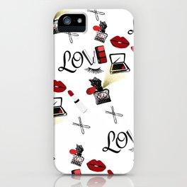 Love Makeup iPhone Case