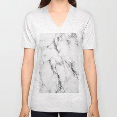 Marble #texture Unisex V-Neck