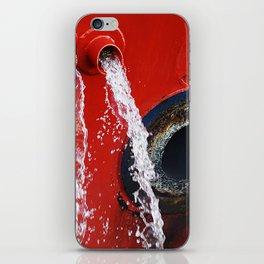 """emptying"" iPhone Skin"