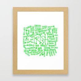 IT'S AN IRISH THING! Framed Art Print