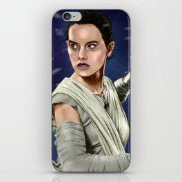 Rey - The Force Awakens iPhone Skin