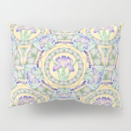 Iris Nouveau Pillow Sham