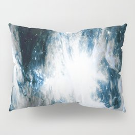 Orion Nebula Blue & Gray Pillow Sham