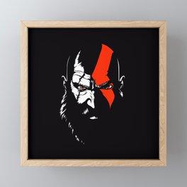 Kratos Framed Mini Art Print
