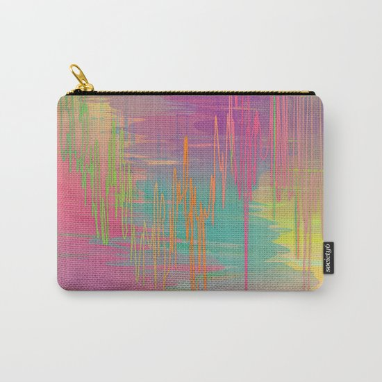 Rainbow Storm Carry-All Pouch