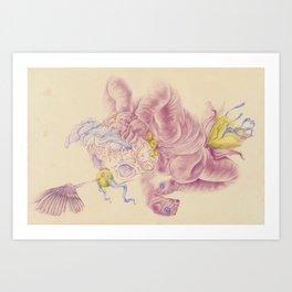 Cooby Art Print