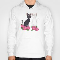 anime Hoodies featuring Anime Cats by MyimagesArt