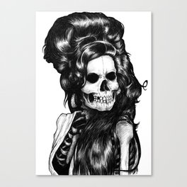 Dead Famous Amy Canvas Print