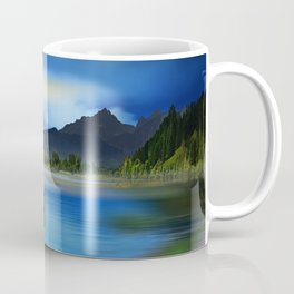 The mystic lake Coffee Mug