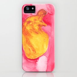 Golden Fetus| 3|Abstract Designs| 200826 Watercolor Watercolour Art Shapes Painting iPhone Case