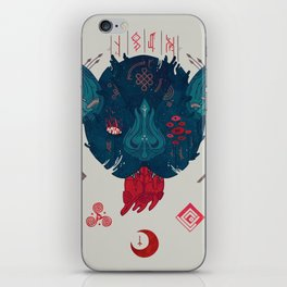 Runic Bat iPhone Skin
