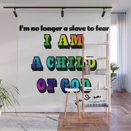 I am a Child of God-Style 2 Graphic Design Wall Mural