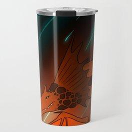 Rock Magma Dragon Travel Mug