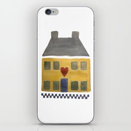 Home is not  Home Without a Heart Shaker Americana Colonial Symbol iPhone Skin