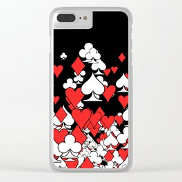 Poker Star II Clear iPhone Case