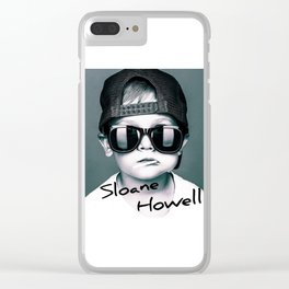 Sloane Howell Clear iPhone Case