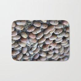 Acorns with Holes No.3 Bath Mat
