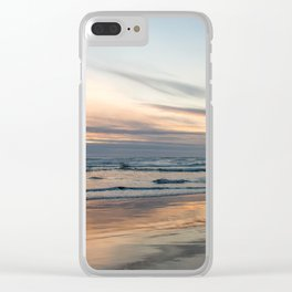 Pacific Glow Clear iPhone Case