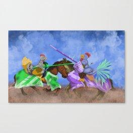 The Hen Always Wins Canvas Print