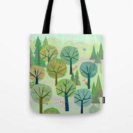 FULL FOREST Tote Bag