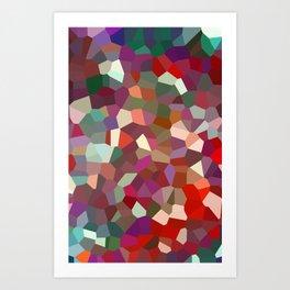 Crystallised Art Print