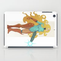 samus iPad Cases featuring Samus by Tim Kaminski